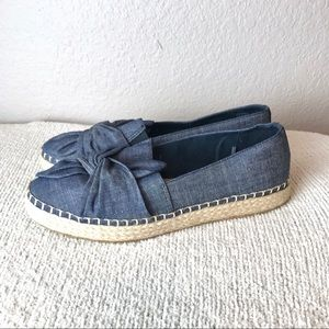 Boundless by Dr. Scholl's Chambray Espadrilles